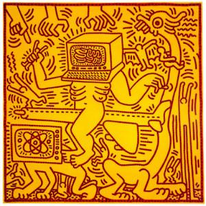 Haring_computerman